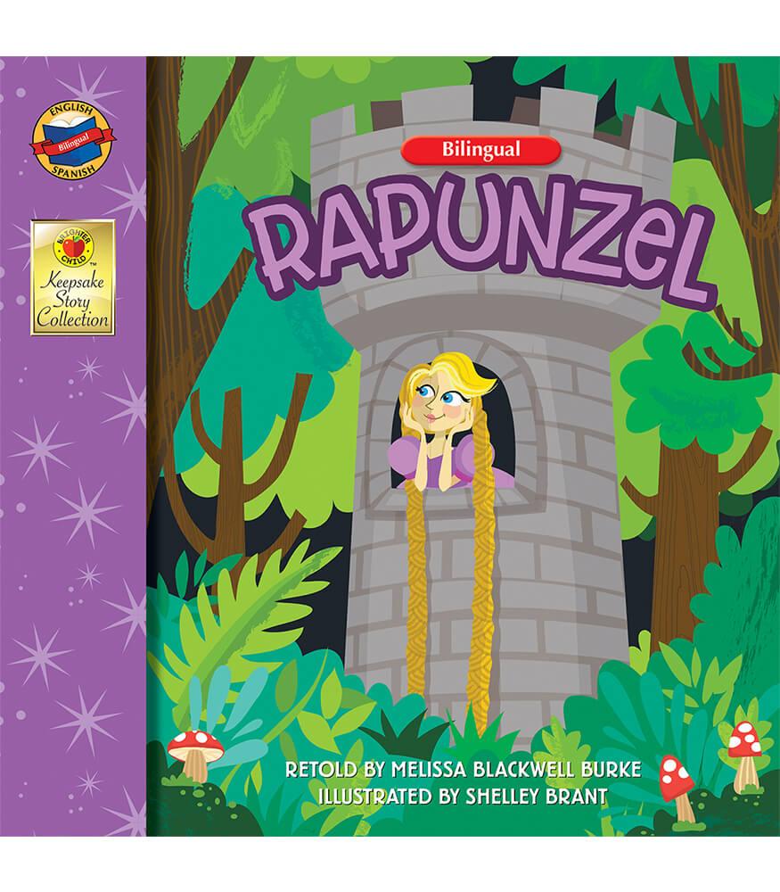 Rapunzel Bilingual Storybook Product Image
