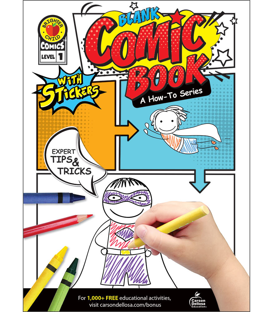 Blank Comic Book: A How-To Series Level 1 Activity Book Product Image