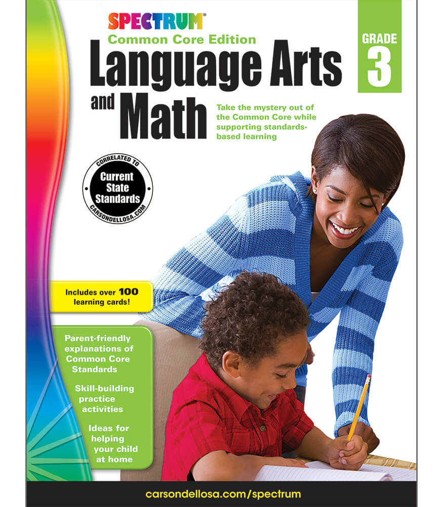 Spectrum Language Arts and Math Workbook Product Image