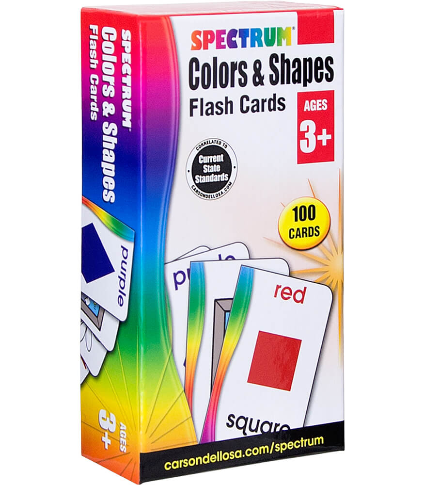 Colors & Shapes Flash Cards Product Image