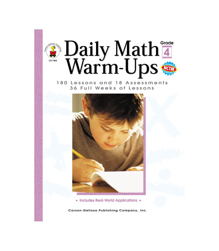 Daily Math Warm-Ups Resource Book Product Image