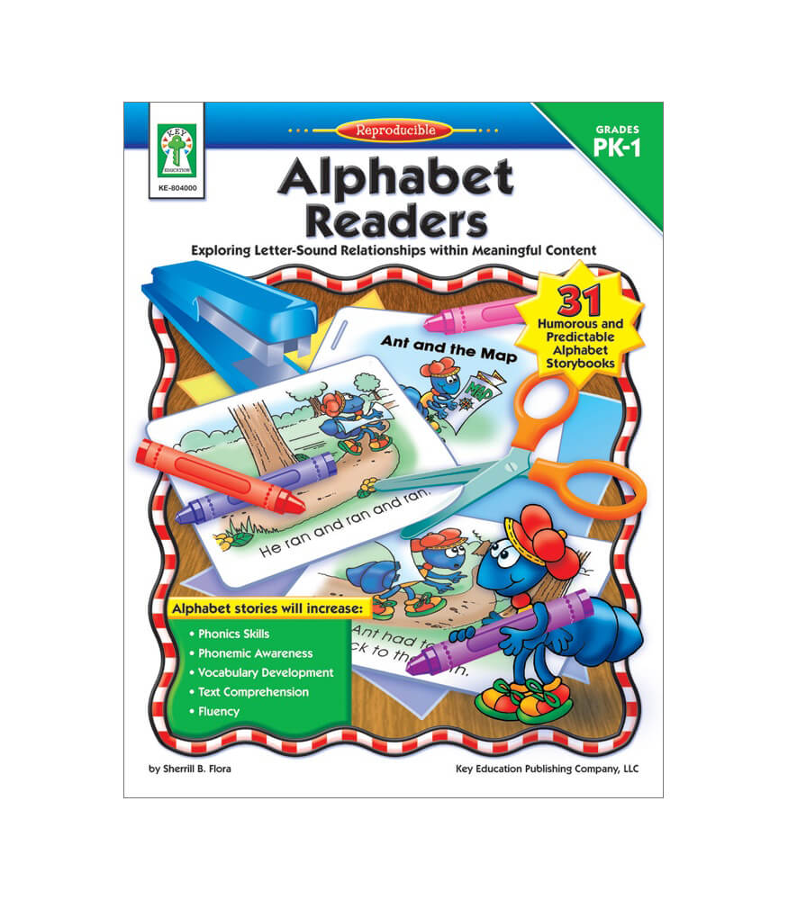 Alphabet Readers Resource Book Product Image