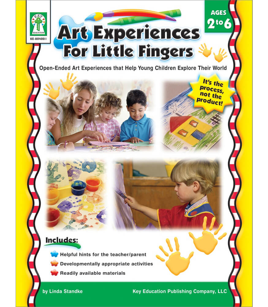 Art Experiences for Little Fingers Resource Book Product Image