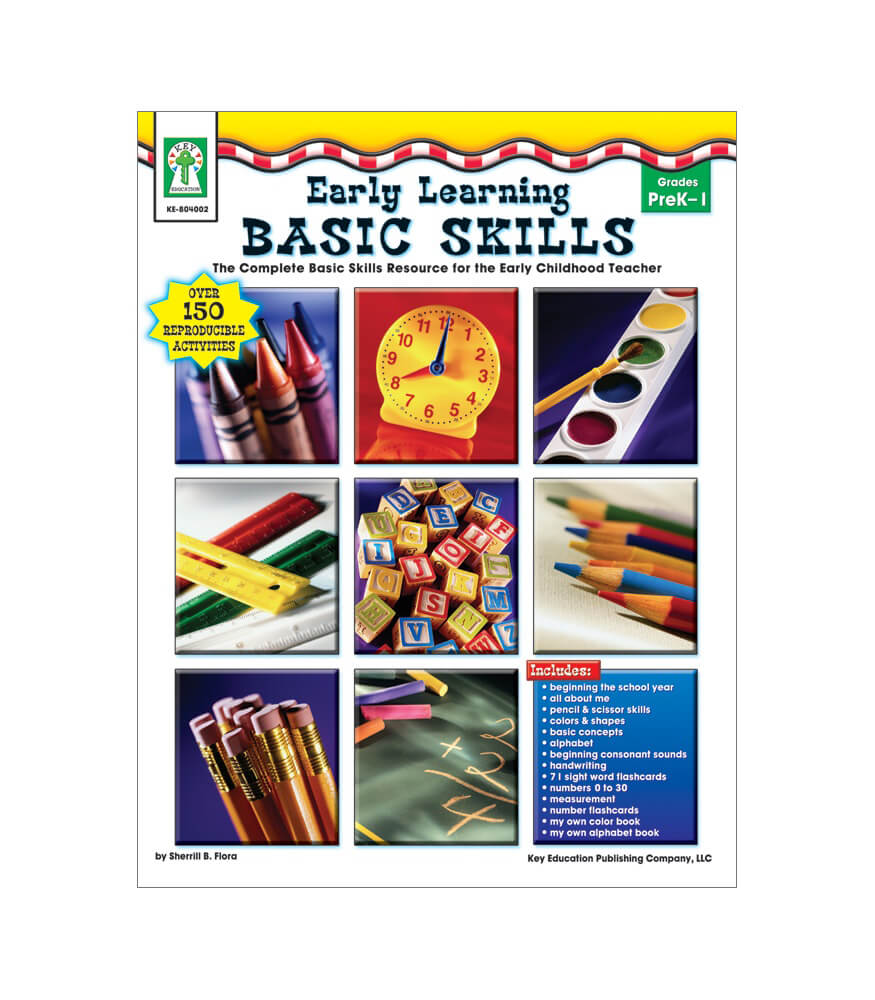 Early Learning Basic Skills Resource Book Product Image