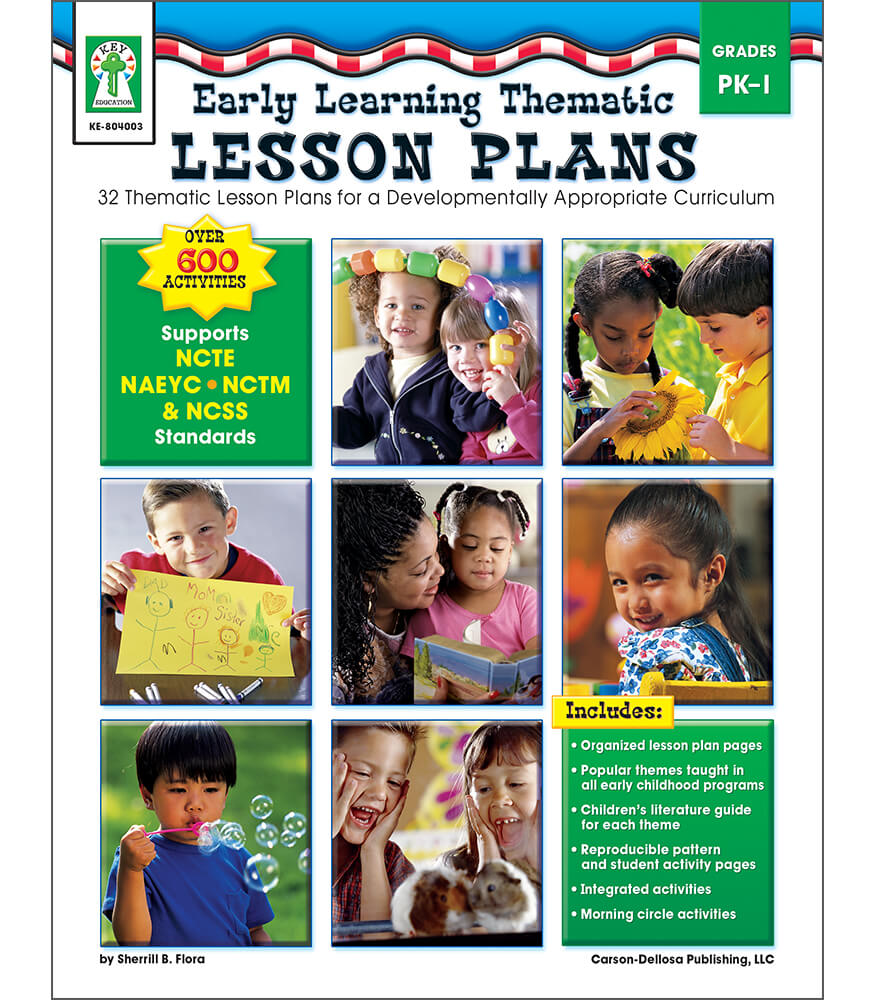 Early Learning Thematic Lesson Plans Resource Book Product Image