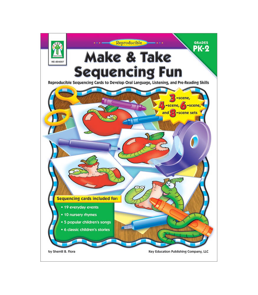 Make & Take Sequencing Fun Resource Book Product Image
