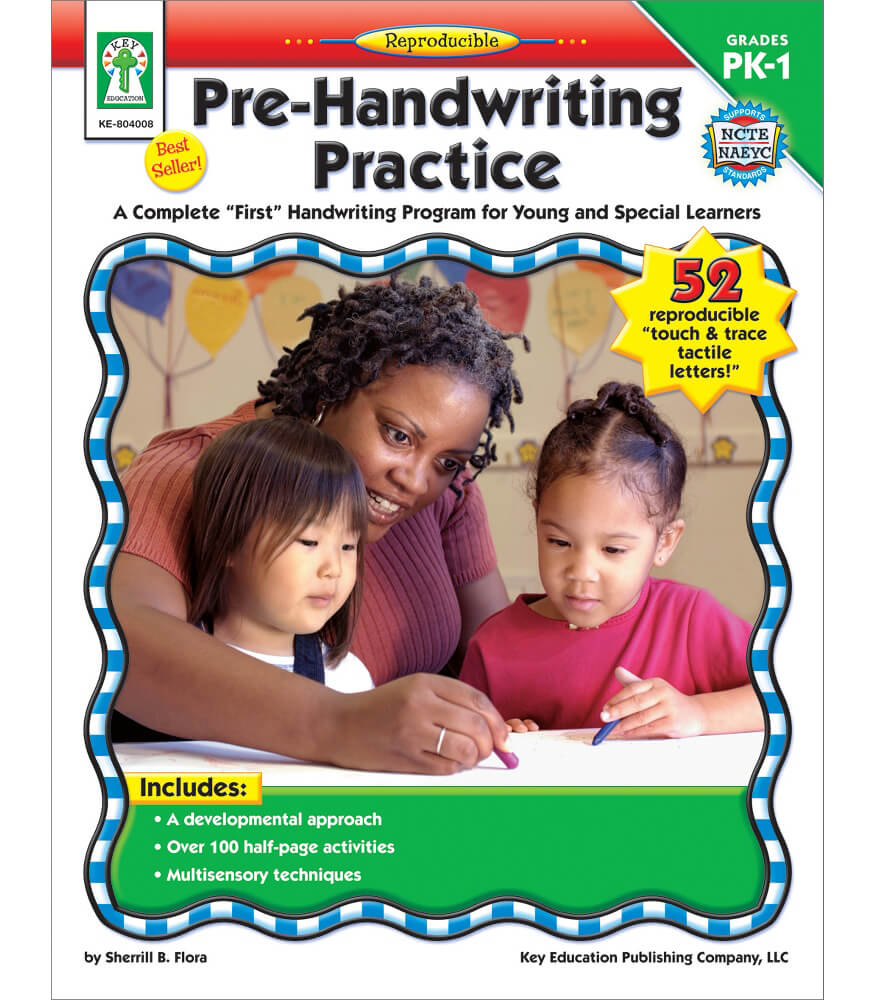 Pre-Handwriting Practice Resource Book Product Image