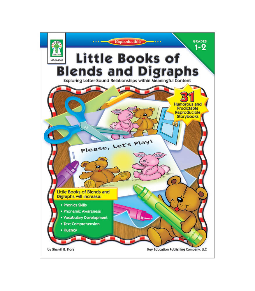Little Books of Blends and Digraphs Resource Book Product Image