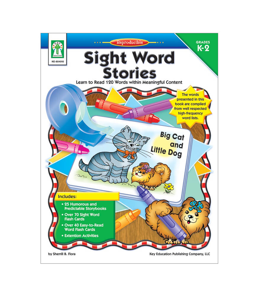 Sight Word Stories Resource Book Product Image