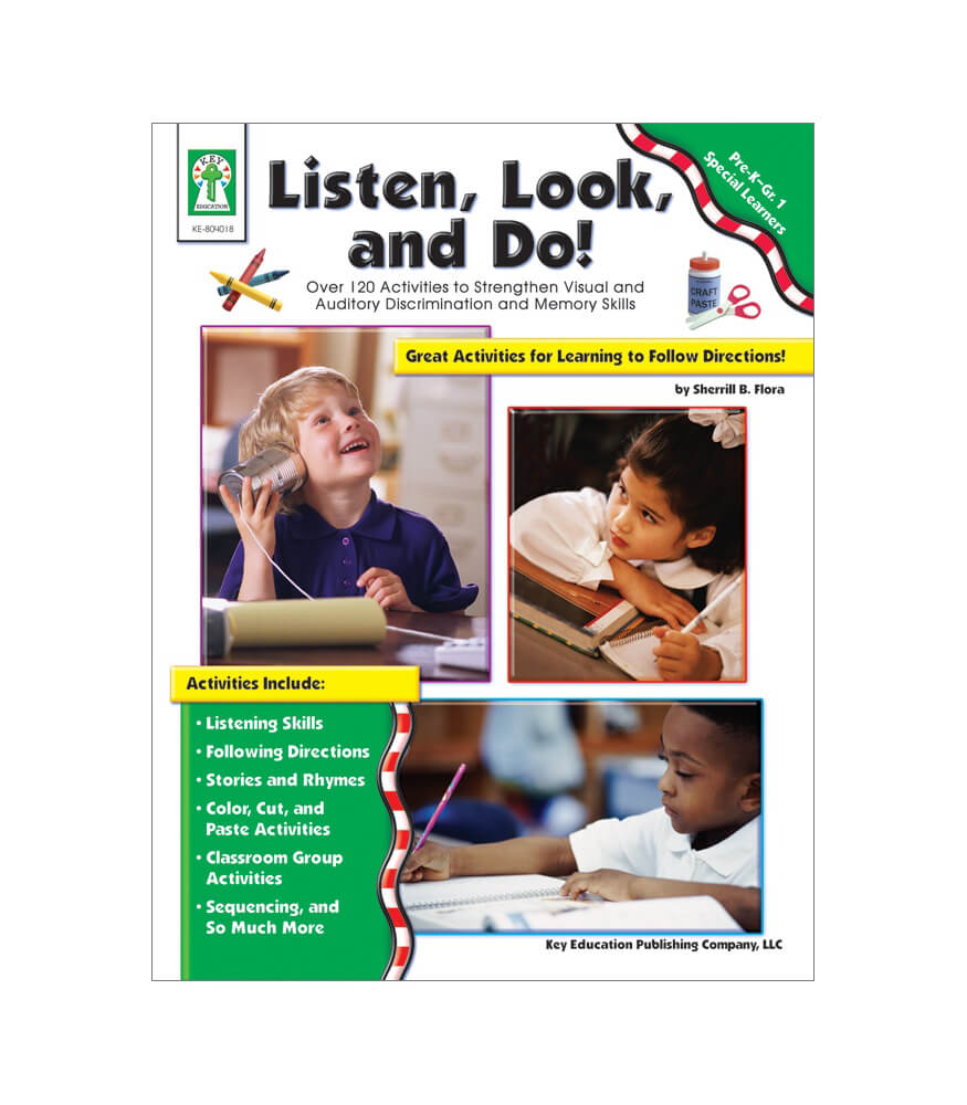 Listen, Look, and Do! Resource Book Product Image