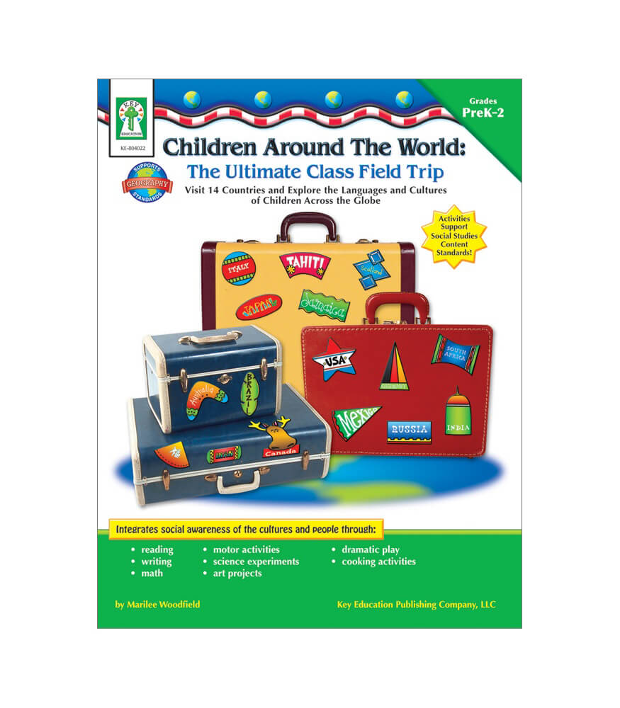Children Around the World: The Ultimate Class Field Trip Resource Book Product Image