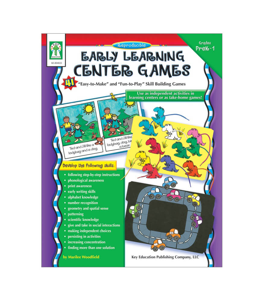 Early Learning Center Games Resource Book Product Image