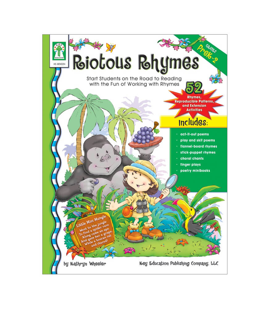 Riotous Rhymes Resource Book Product Image