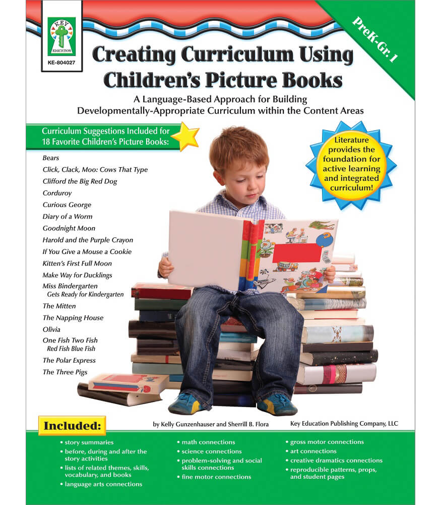 Creating Curriculum Using Children's Picture Books Resource Book Product Image
