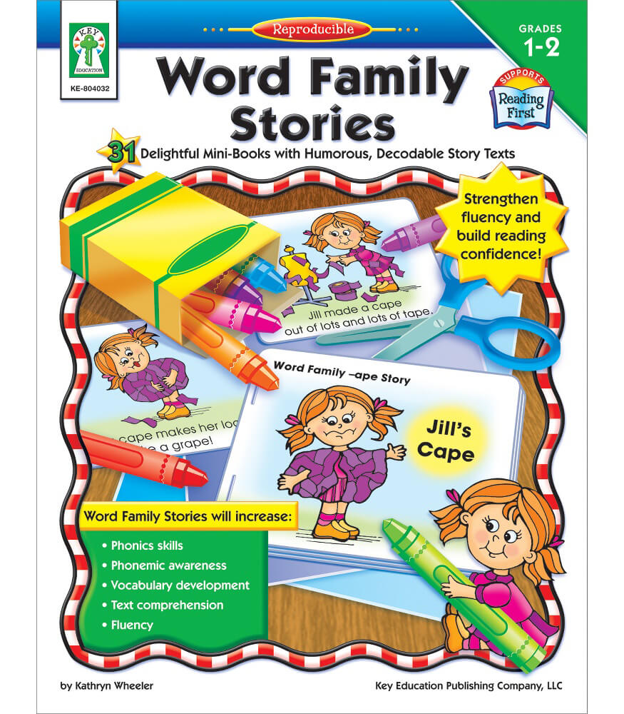 Word Family Stories Resource Book Product Image
