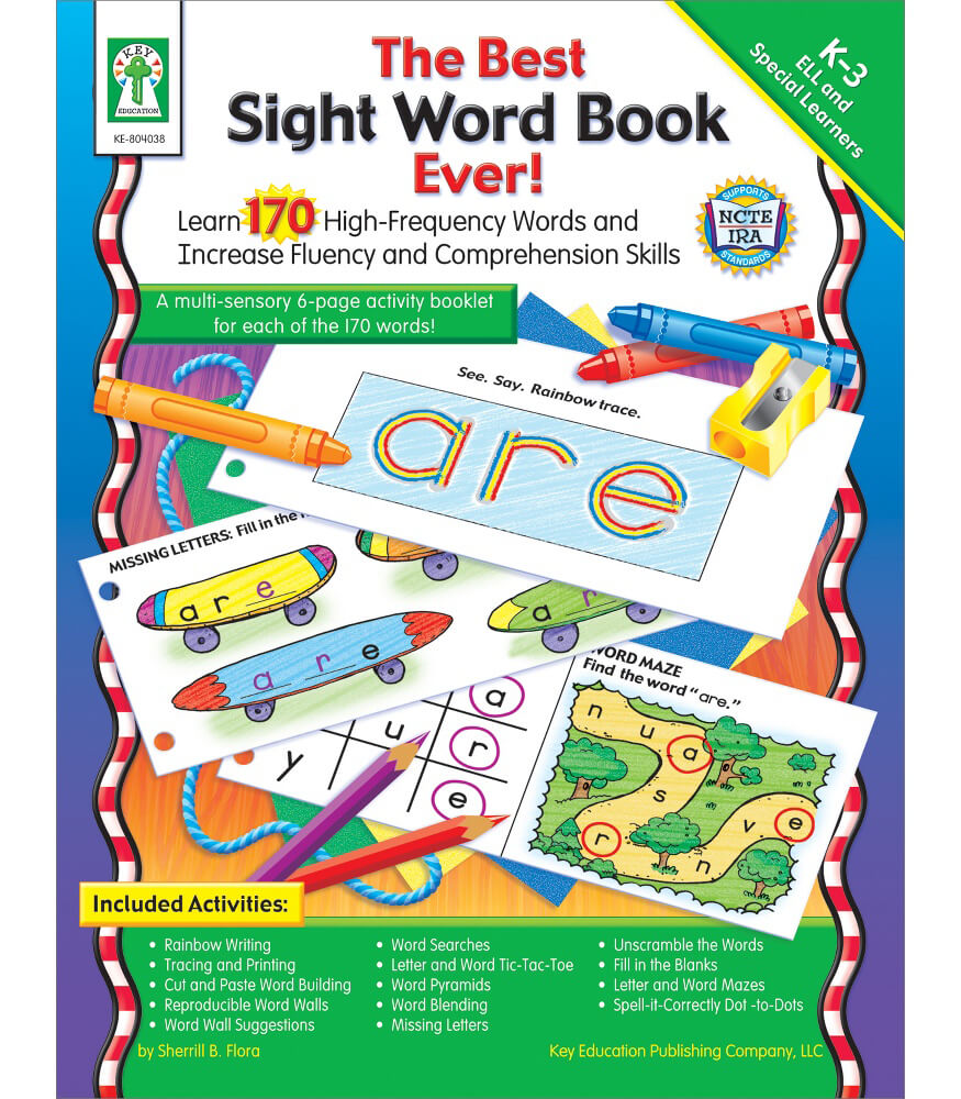 The Best Sight Word Book Ever! Resource Book Product Image