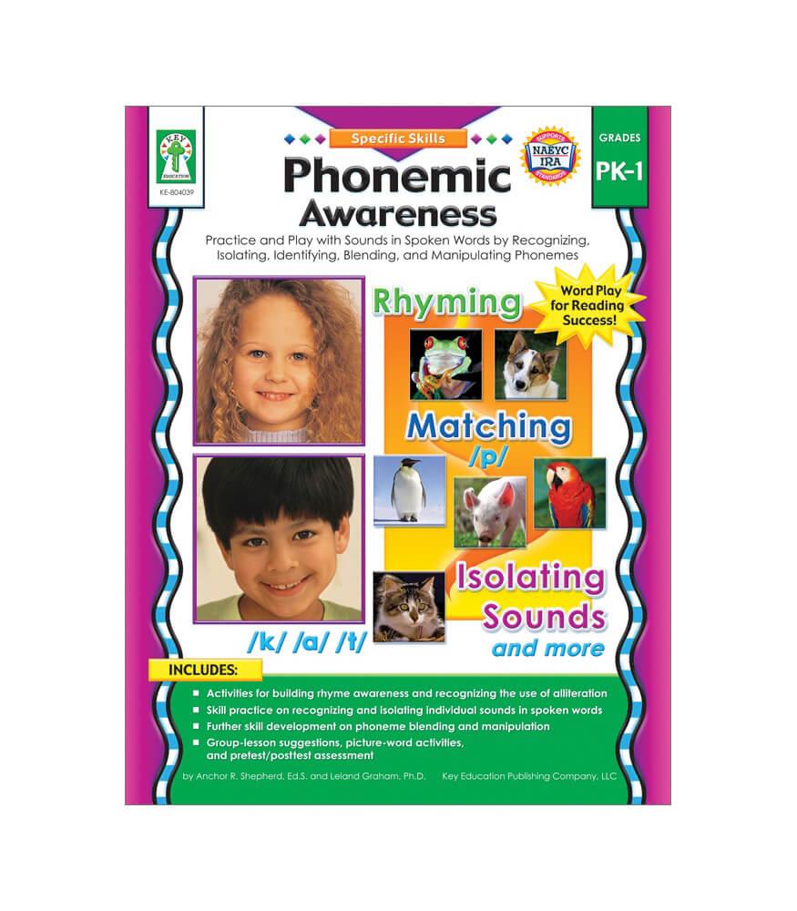 Phonemic Awareness Resource Book Product Image