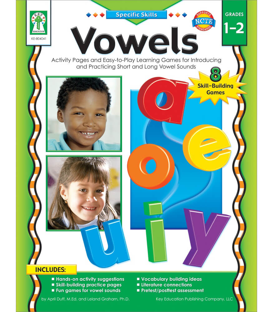 Vowels Resource Book Product Image