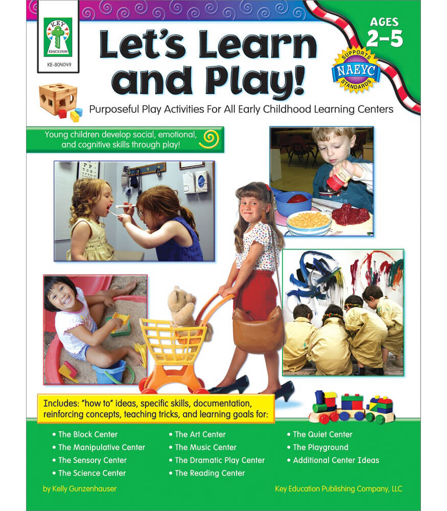 Let's Learn and Play! Resource Book Product Image