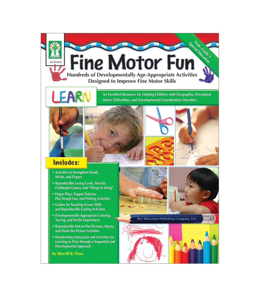 Fine Motor Fun Resource Book Product Image