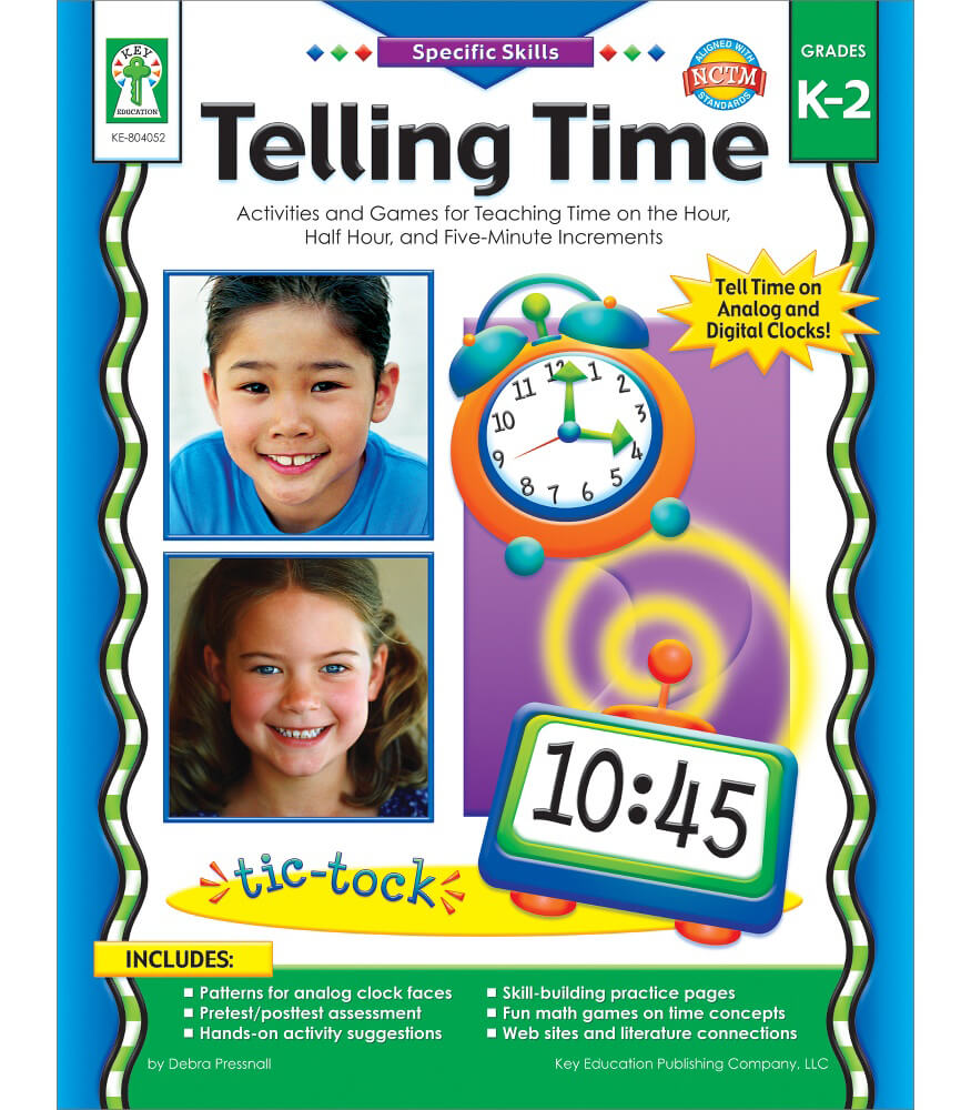 Telling Time Resource Book Product Image