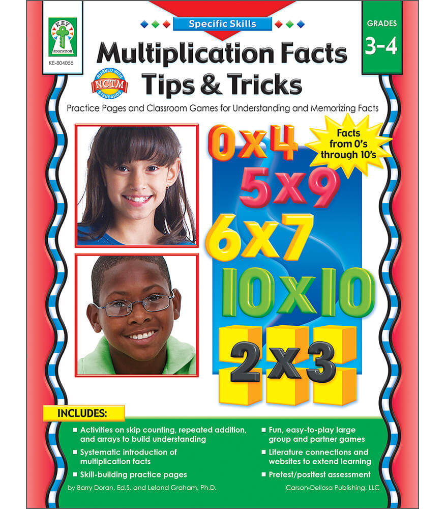 Multiplication Facts Tips and Tricks Resource Book Product Image