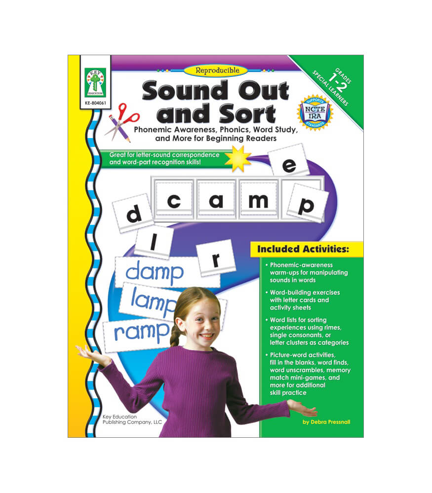 Sound Out and Sort Resource Book Product Image