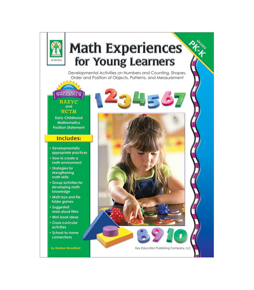 Math Experiences for Young Learners Resource Book Product Image