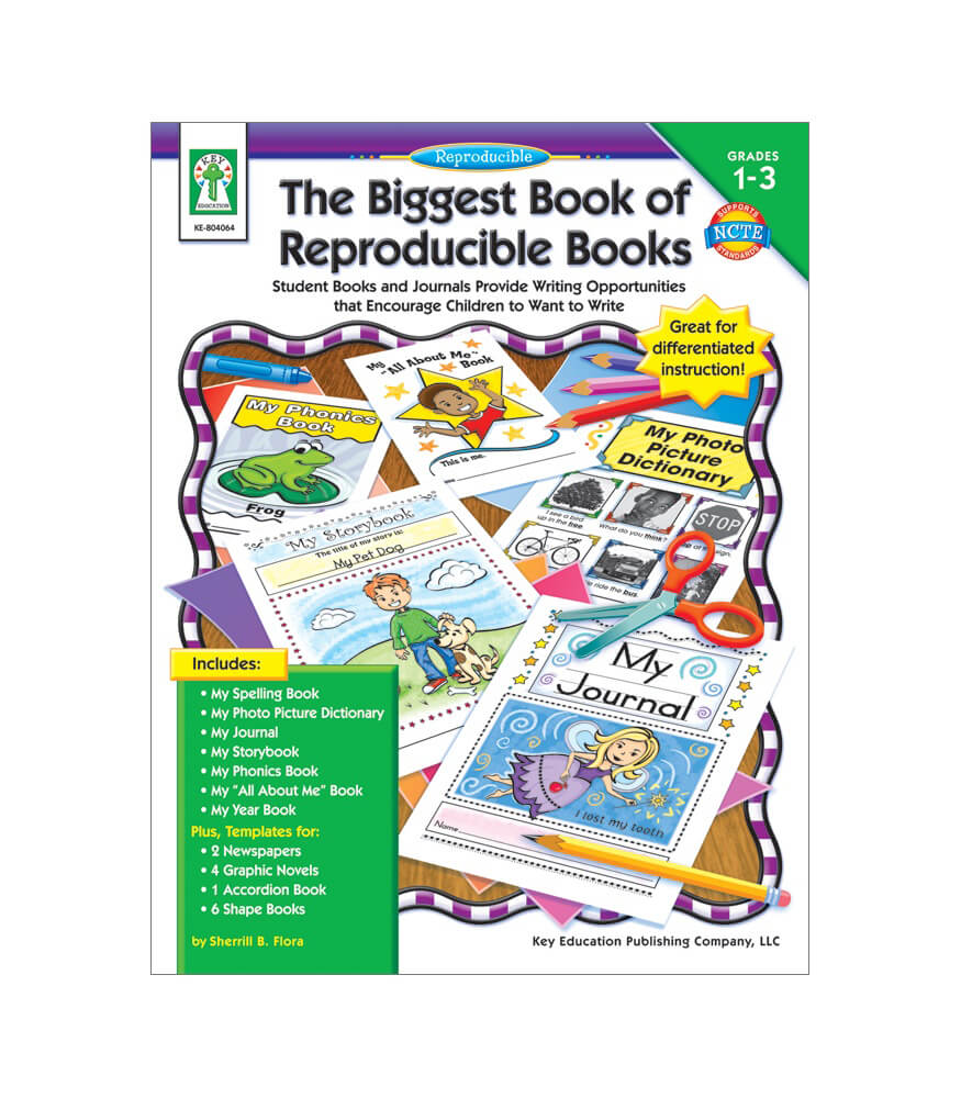 Workbooks all about me workbook : The Biggest Book of Reproducible Books Resource Book Grade 1-3 ...