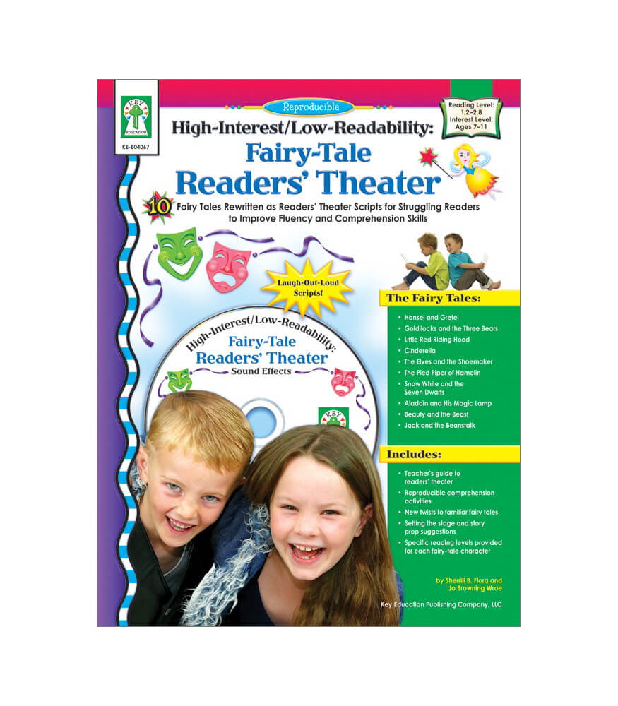 Fairy Tale Readers' Theater Resource Book Product Image