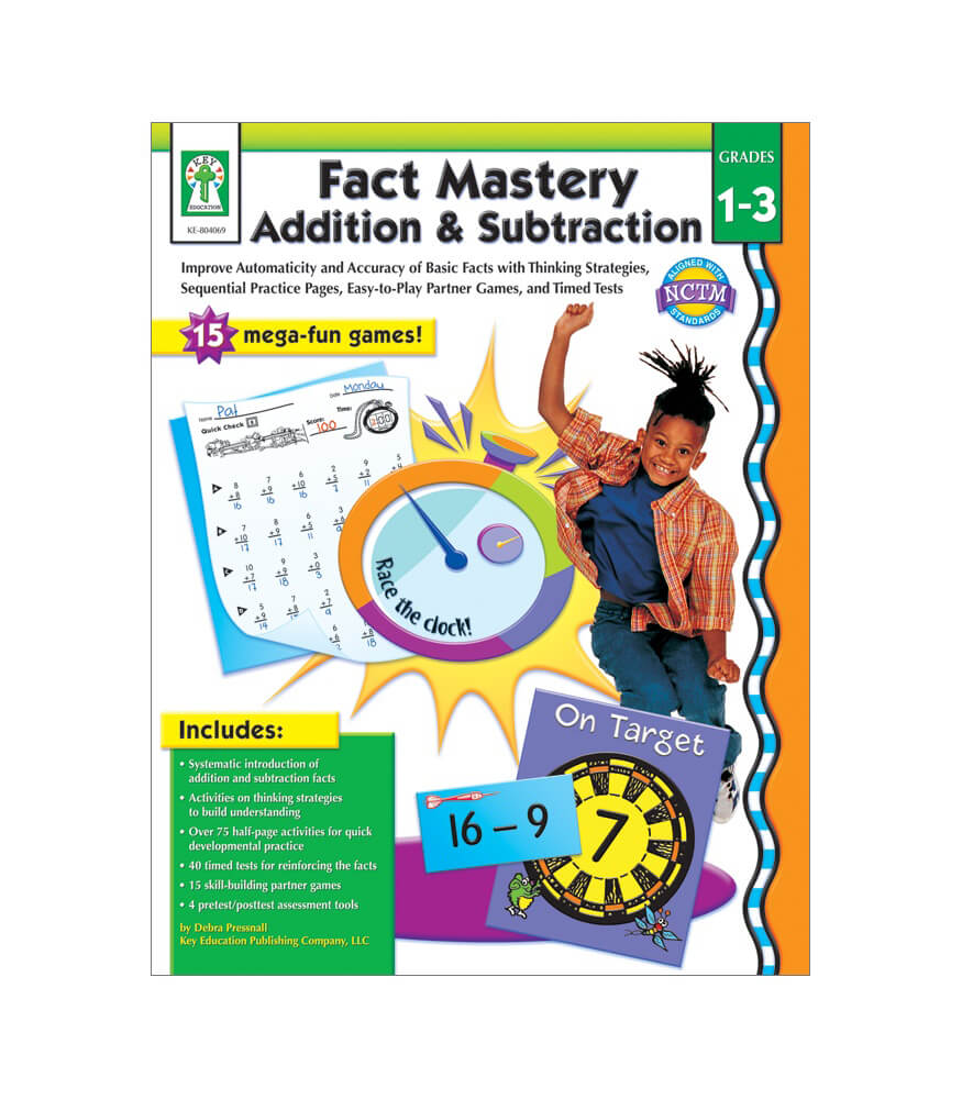 Fact Mastery: Addition & Subtraction Resource Book Product Image