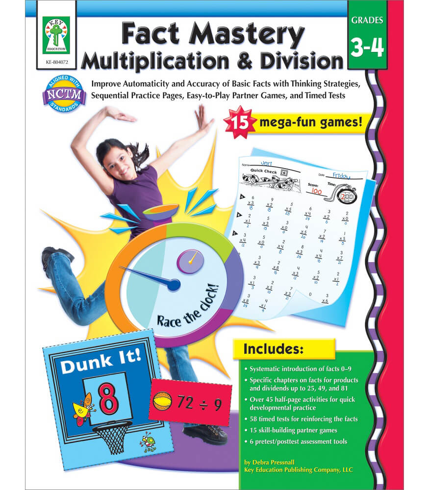 Fact Mastery Multiplication & Division Resource Book Product Image