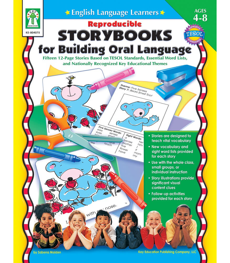 Reproducible Storybooks for Building Oral Language Resource Book Product Image