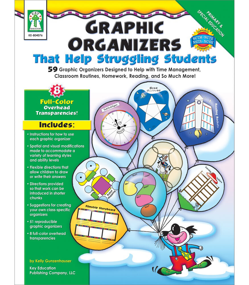 Graphic Organizers That Help Struggling Students Resource Book Product Image