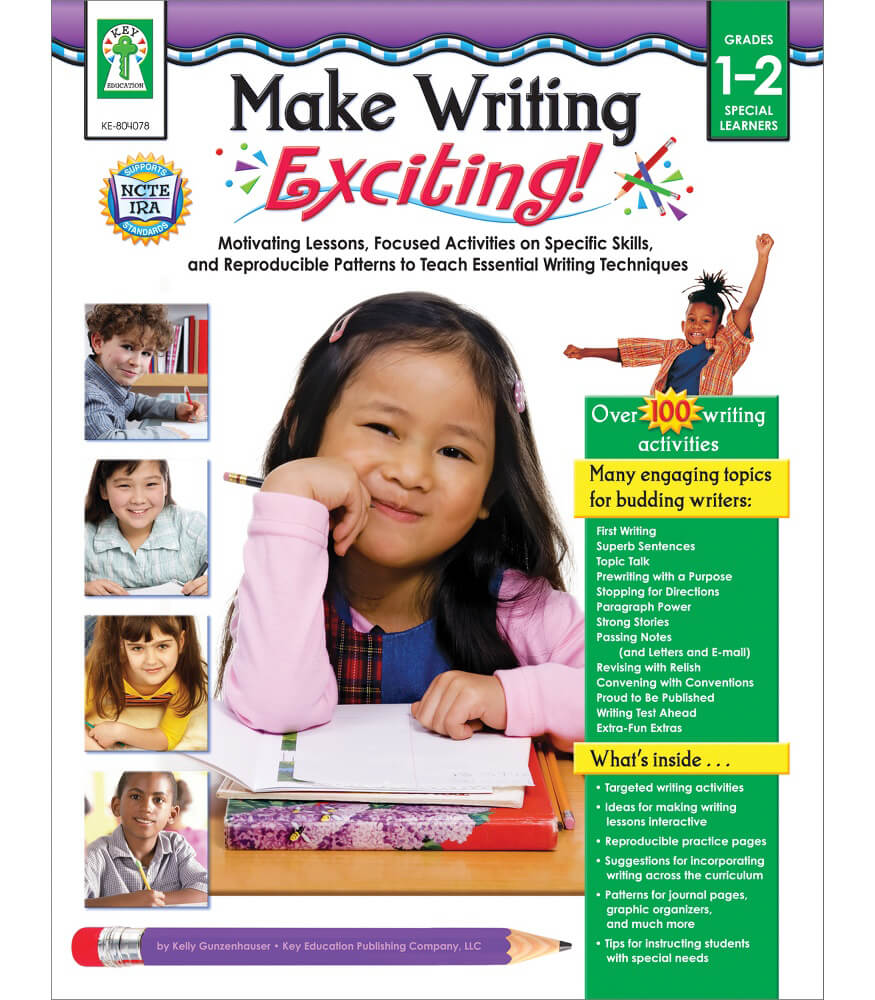 Make Writing Exciting! Resource Book Product Image