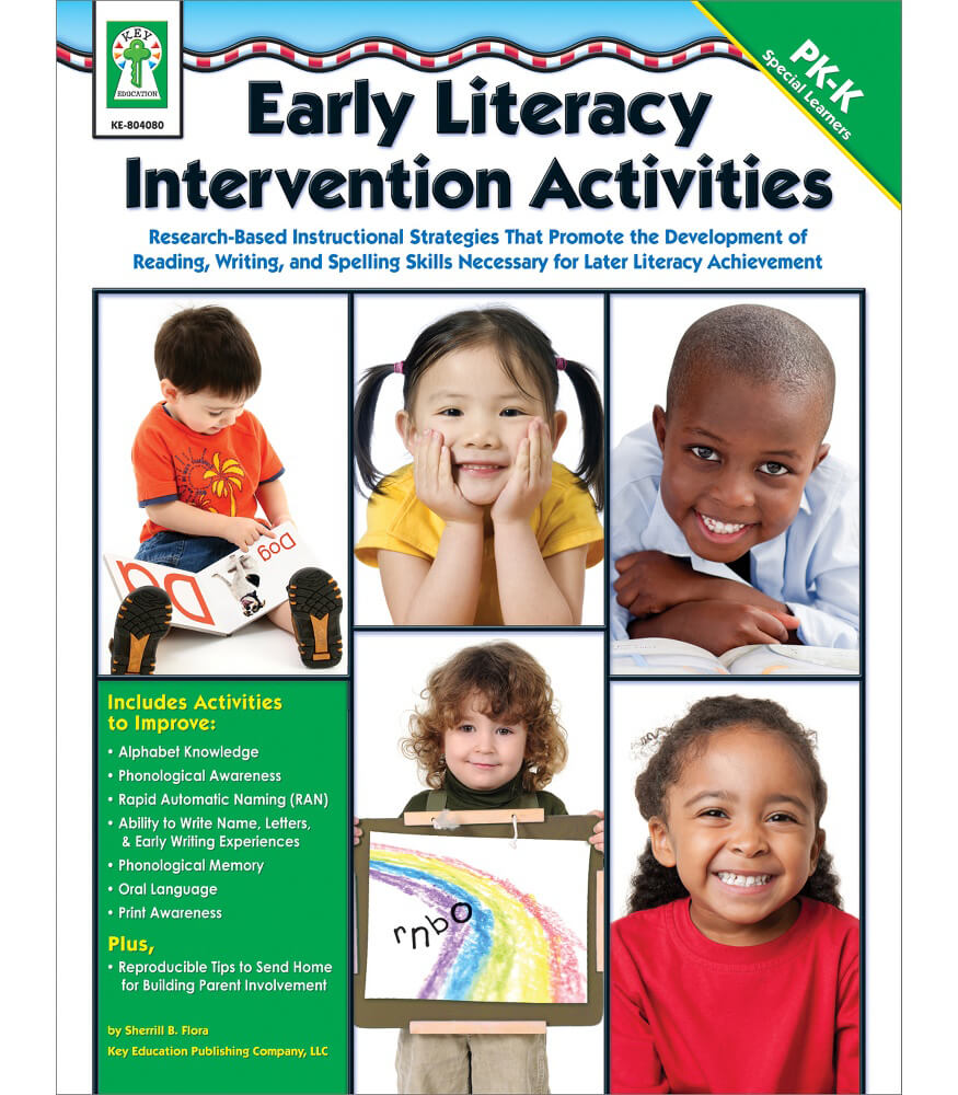 Early Literacy Intervention Activities Resource Book Product Image