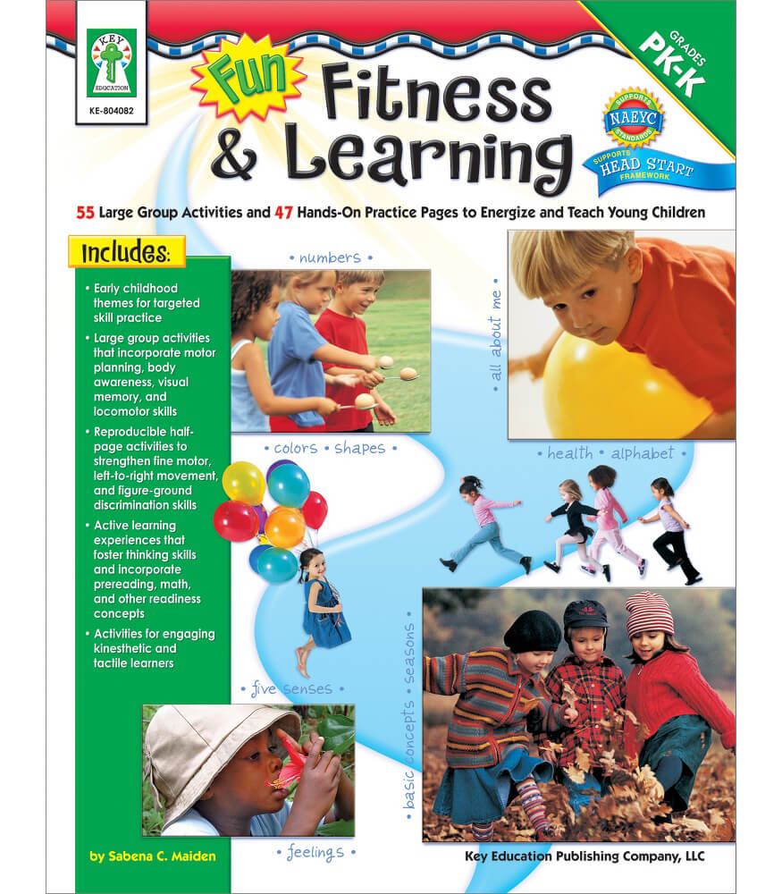 Fun, Fitness, & Learning Resource Book Product Image