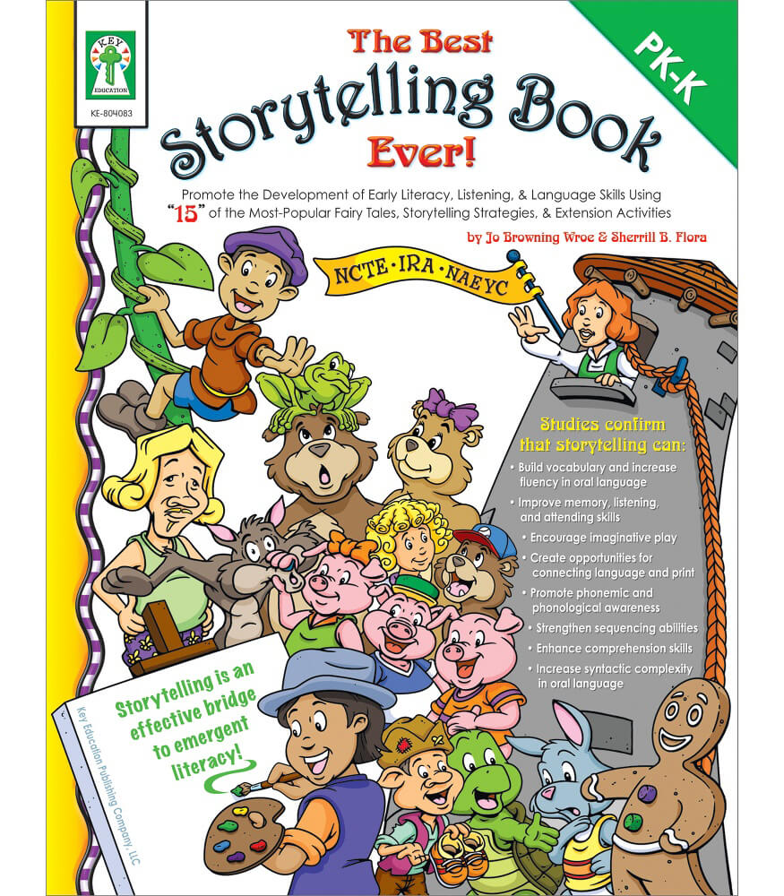 The Best Storytelling Book Ever! Resource Book Product Image