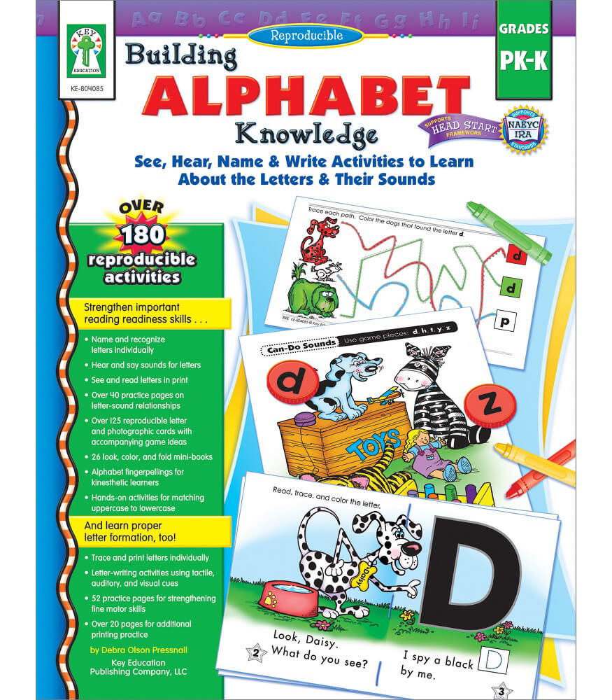 Building Alphabet Knowledge Resource Book Product Image