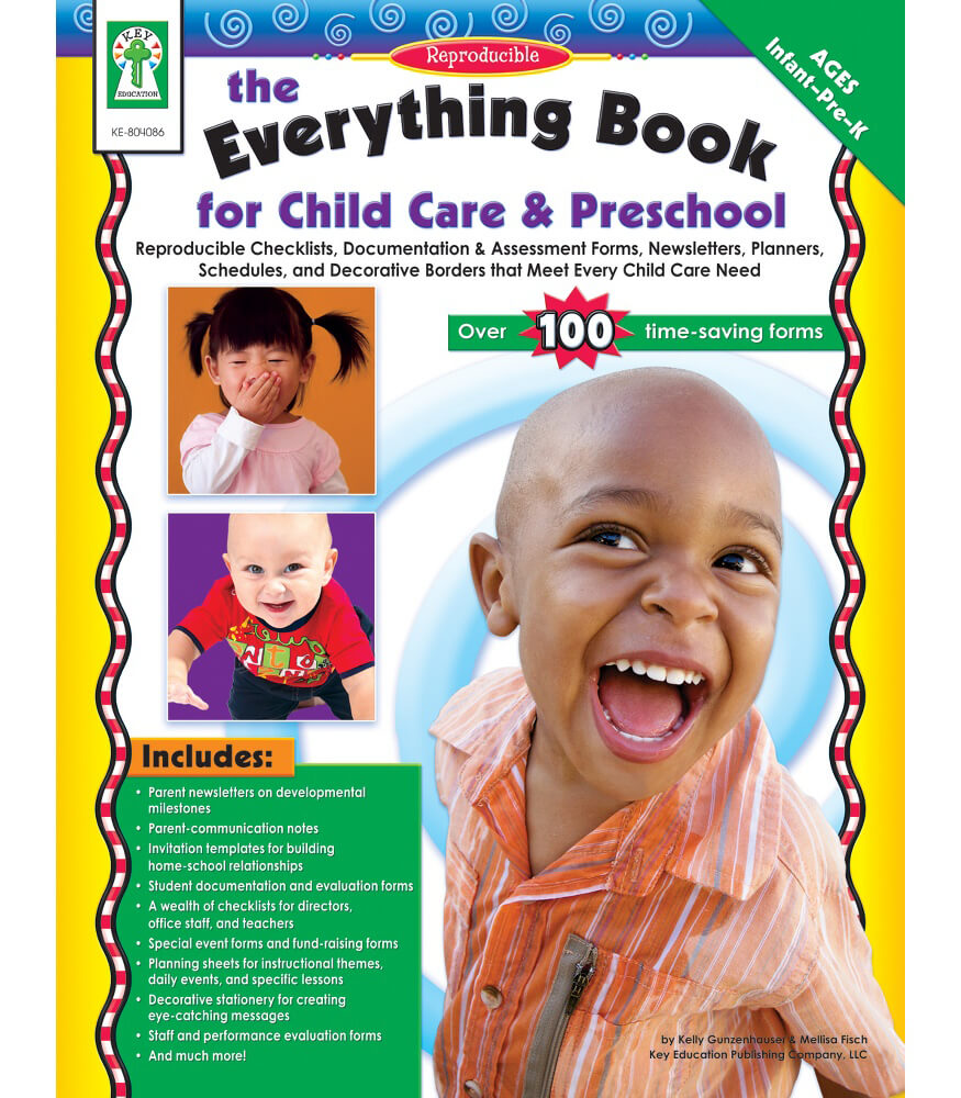 The Everything Book for Child Care & Preschool Resource Book Product Image