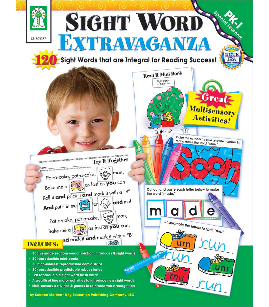 Sight Word Extravaganza! Resource Book Product Image