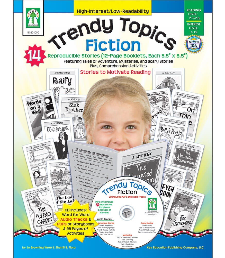 Trendy Topics: Fiction Resource Book Product Image