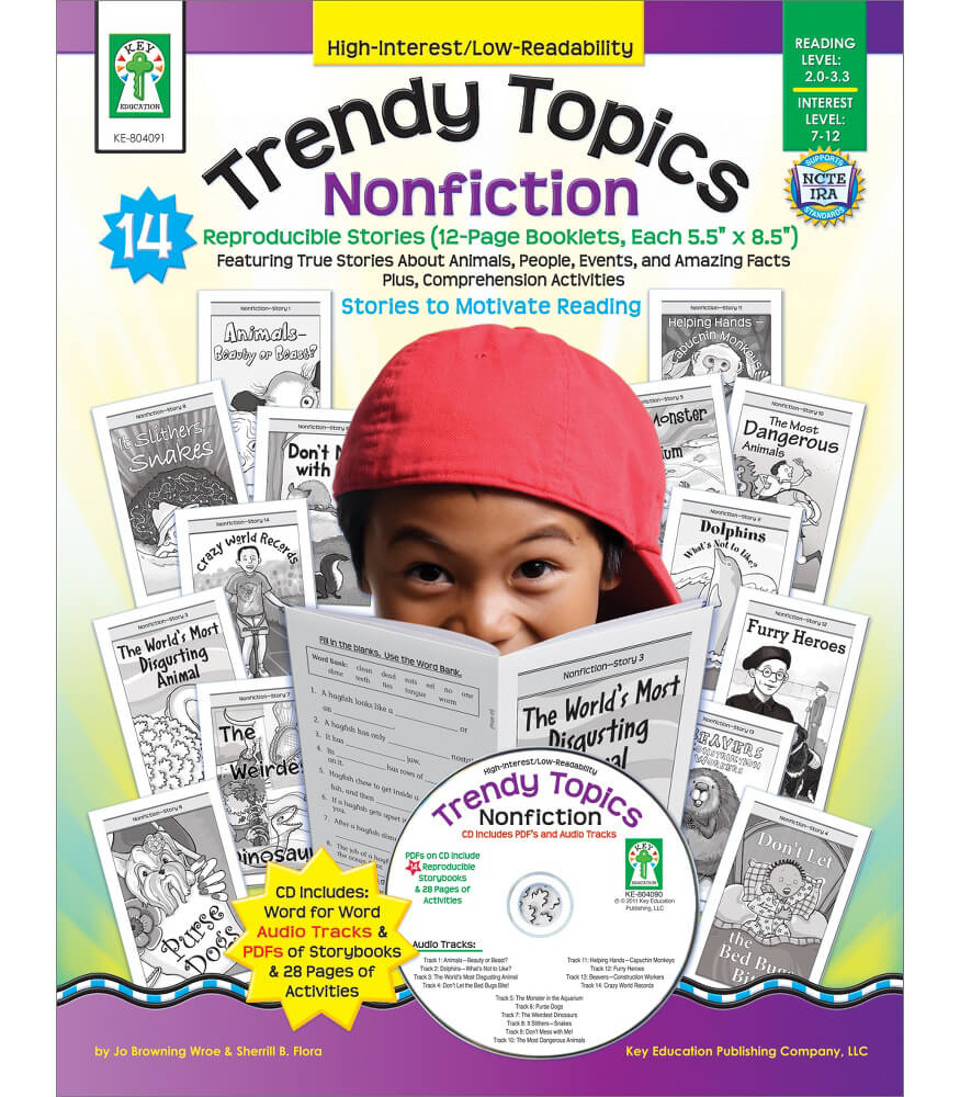 Trendy Topics: Nonfiction Resource Book Product Image