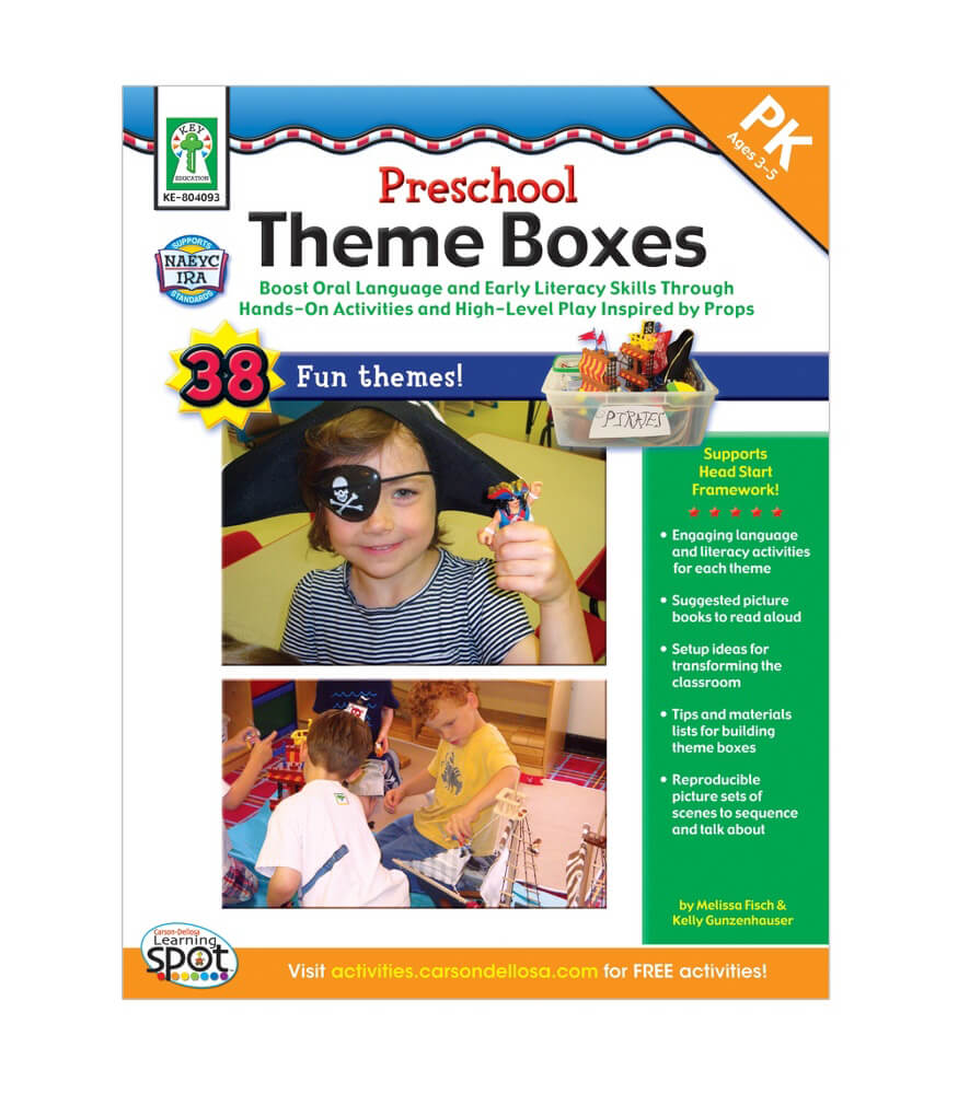 Preschool Theme Boxes Resource Book Product Image