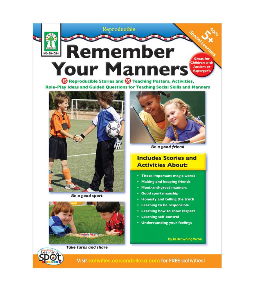 Remember Your Manners Resource Book Product Image
