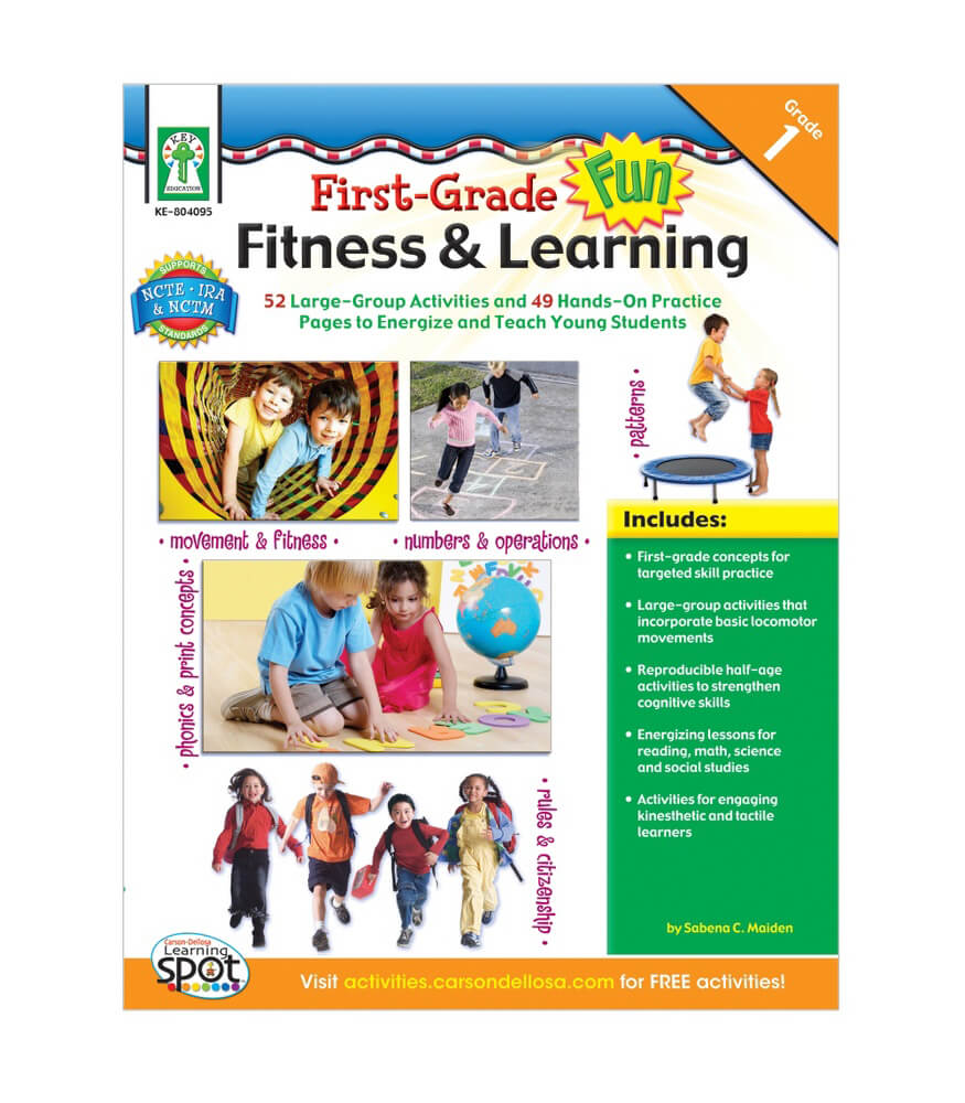 First Grade Fun, Fitness & Learning Resource Book Product Image