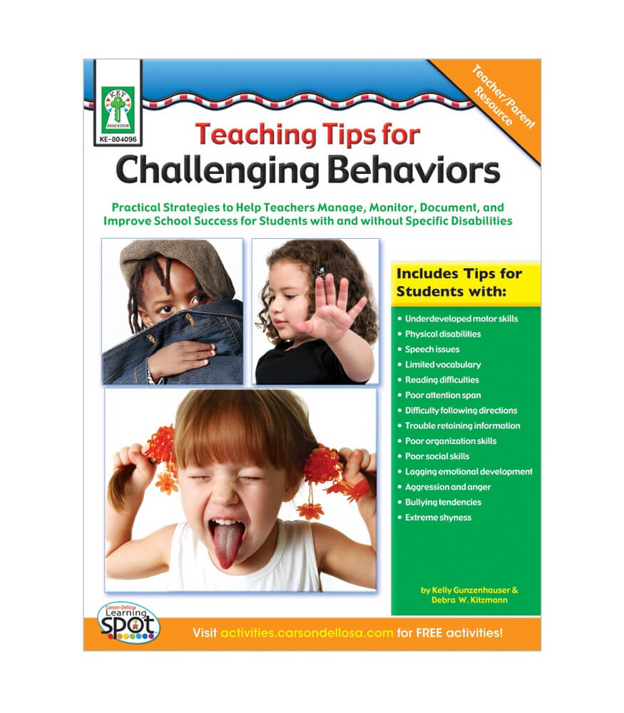 Teaching Tips for Challenging Behaviors Resource Book Product Image