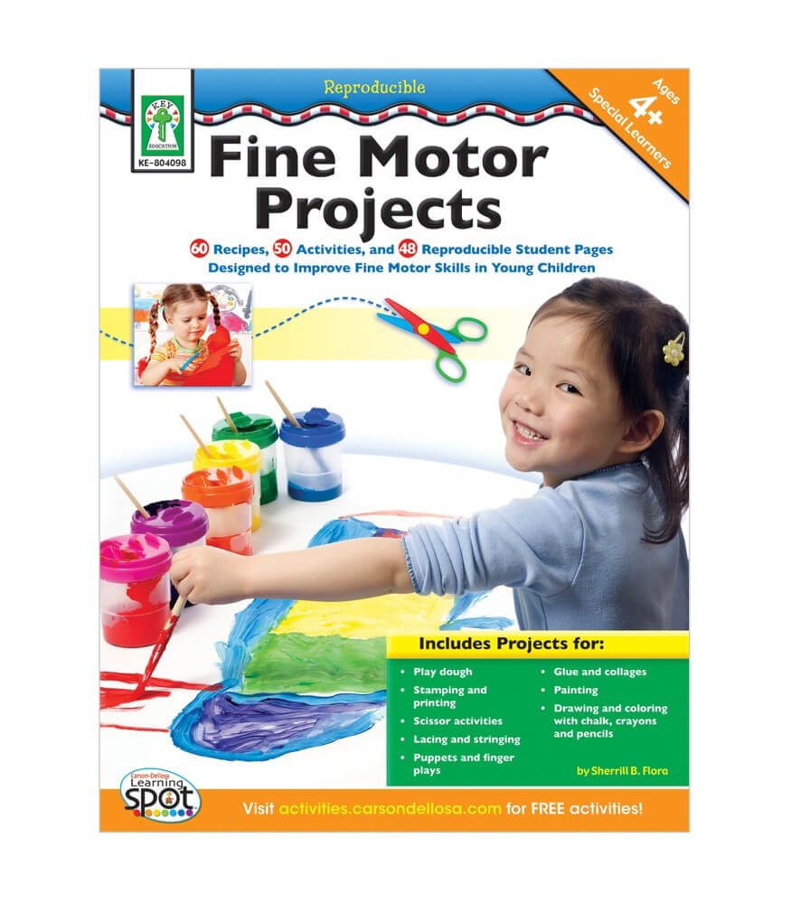 Fine Motor Projects Resource Book Product Image