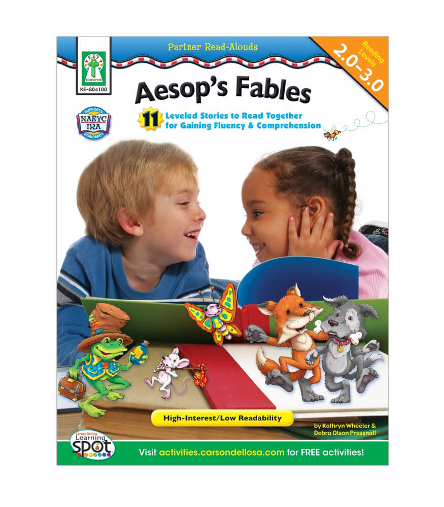 Aesop's Fables Resource Book Product Image