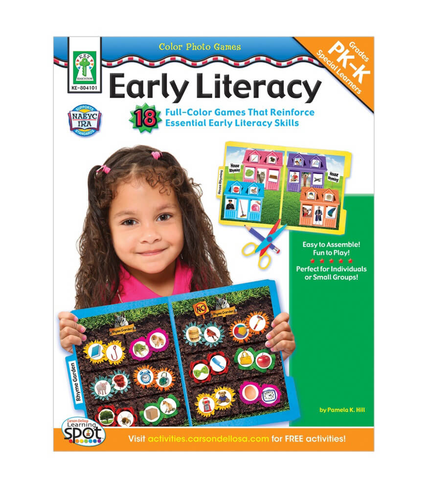 Color Photo Games: Early Literacy Resource Book Product Image